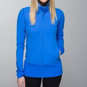 Lululemon pipe dream blue asana jacket size 6 🍋